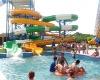 Compound water slide
