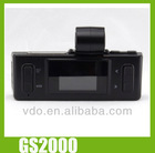 Full HD 1080P H.264 30FPS Car camera GS2000 with GPS and G-sensor
