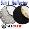 """100 x 150cm 40"""" x 60"""" 5-in-1 Collapsible OVAL Reflector"""