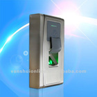 Waterproof fingerprint access control system time attendance machine