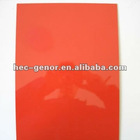 high gloss red lamination sheet