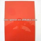 high gloss red lamination sheet