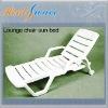 Folding plastic sand beach chair.Lounger chair.Moon chair