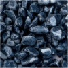 the black artificial pebbles stone