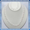 8-9mm button natural pearl set N359-1