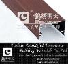 Aluminum wood grain decoration beam