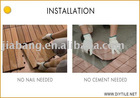 Home Decking Tile for DIYers
