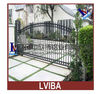 Aluminium Gate Imitate the Iron Gate:Wrought Iron Gate and Oriental Iron Gate