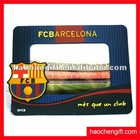 Promotional logo rubber pvc photo frame