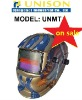 Paiting colorful auto darkening welding helmet
