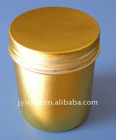 large volume color aluminum screw tin with lid aluminum jar