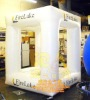 Inflatable white tent four corners