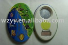 Newness !!! customizeTin bottle opener with magnet BO-003