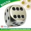 2012 hottest engraved custom metal dice