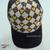 H0020A Checked hiphop hat