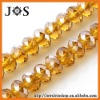 8mm Topaz Crystal & Glass Beads Fit Necklaces, Pendants