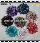 STOCK Christmas dots shabby flower trim(ST1006-78)