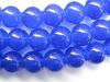 blue loose imitation gemstone crystal beads