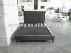 Hotel modern high quality fabric bed HB-022