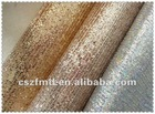 High quality glitter mesh fabric for shoes