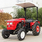 Hot Popular 20 hp Greenhouse Tractor With Rops Canopy/Sun Roof