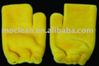microfiber car cleaning mitts