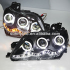 For TY REIZ / Mark X LED Head Light Angel Eyes Projector Lens 2005-09 year