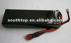 lipo battery pack 14.8V 3000mAh 25C Continuous, 50C Burst