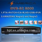 AZ AMERICA S900HD DVB-S2 STB card sharing satellite dvb-s2 decoder for south america market nagra3 systerm
