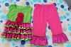 2013 New Arrivals Tank Top and and children's suite Baby Outfits/ Outfit for Girls