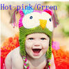 Wholesale So Cute Handmade Knitting Wool Hat kids crochet hats