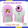 High Definition 1.5'' TFT LCD Monitor,2 Channels 2.4GHz Wireless Digital Baby Monitor