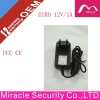!!! Hot Selling Euro12V/1A Plug-in wall mount power adapter for CCTV /LED/DVD