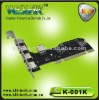 5 Ports High speed PCI 2.0 CARD Nec chip