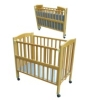 HGJ2105D-2 wooden baby bed
