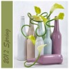 2012 new item for home decor-ceramic flower modern vases