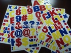 self-adhesive synthetic label sticker printing