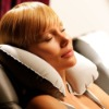 inflatable neck trave pillow