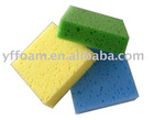 Colorful Reticulated Seaweed Sponge/Cleaning Sponge