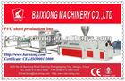 Plastic panel production line