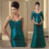 (VMB345) Scoop Neckline Sleeveless Taffeta Zuhair Murad Mother Of Bride Dress