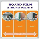 Black Board Film can be stick on the board or glass or wooden or acrylic board for both writing and projection ,very easy