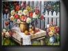 Handmade Flower Canvas Oil Painting