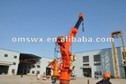 Marine Hydraulic hoisting Telescopic Crane for a ship