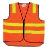 Safety vest meeting EN471 and ANSI 107 standard