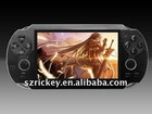 touch screen 32-64 bit Wireless Interactive Tv Game Player with mp3 Game player