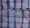 polyester/cotton yarn dyed plaid shirting fabric