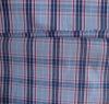 polyester/cotton yarn dyed plaid shirting fabric