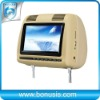 Split-type headrest car DVD player