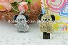 cheap fashion creation pink shell design jewelry 4GB usb flash driver